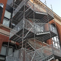 Stair Towers ...
